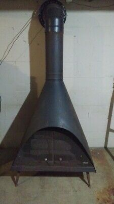 $1499 • Buy Vintage Mid Century Majestic Cone Gas Fireplace