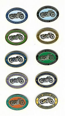 £5.95 • Buy 10 Motorcycle Charity Pin Badges - Priced For All 10 Badges - Multi-buy