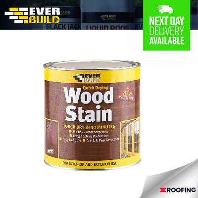 £5.69 • Buy Everbuild Wood Stain 250ml 7 Colours **multi Buy Discount**
