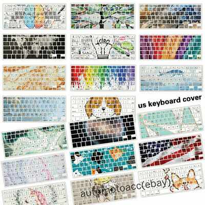 $5.99 • Buy Multicolor Cute Pattern Keyboard Cover For Macbook Air Pro 11  12  13.3  15  16