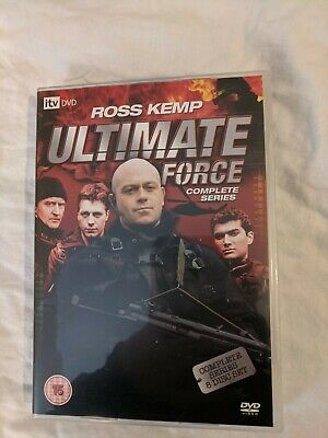 £4.99 • Buy Ultimate Force - Complete Series (DVD, 2008, 8-Disc Set, Box Set)
