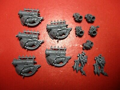 £9.99 • Buy Warhammer 40k Chaos Space Marines Havocs Missile Launcher X5 Bits Box