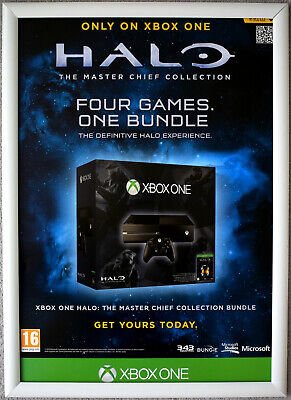 £14.99 • Buy HALO The Master Chief Collection RARE XBOX ONE 42cm X 59cm Promotional Poster #2