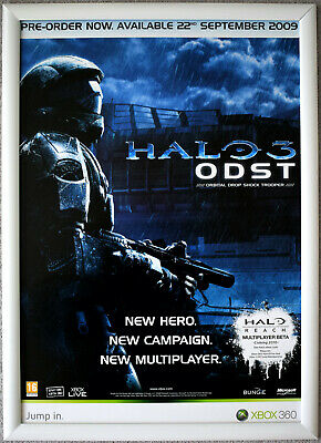 £24.99 • Buy HALO 3 ODST RARE XBOX 360 42cm X 59cm Promotional Poster