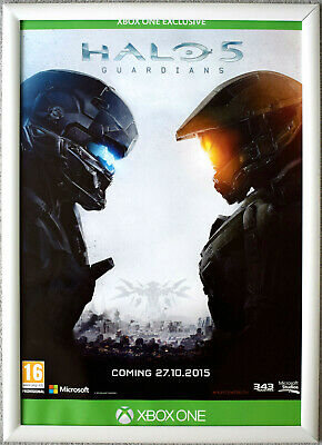 £39.99 • Buy HALO 5 Guardians RARE XBOX ONE 42cm X 59cm Promotional Poster
