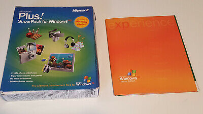 £17.69 • Buy WINDOWS XP – Home Edition (Version 2002) + Plus! SuperPack For Windows