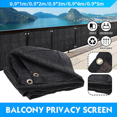 £14.37 • Buy 4/5M Privacy Garden Screen Fence Cover Netting Panel Balcony UV Protection Shade