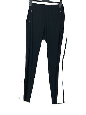 £84.03 • Buy Riani Ladies Fabric Trousers Comfort Jogger Rubber Waistband Plus W36 L32 Black