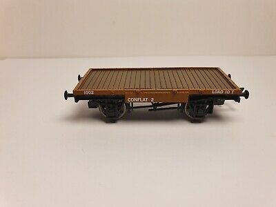 £39.99 • Buy Hornby Flatbed Wagon From R3707 Ruston+hornsby 48ds 'longmorn Distillery'