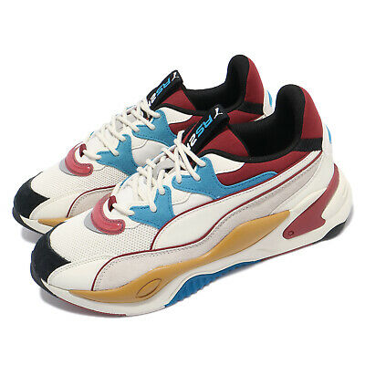 AU137 • Buy Puma RS-2K RF Beige Red Blue Men Casual Lifestyle Chunky Sneaker Shoes 373887-02