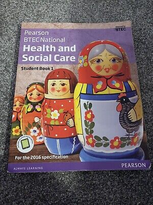 £15 • Buy Btec Health And Social Care Level 3