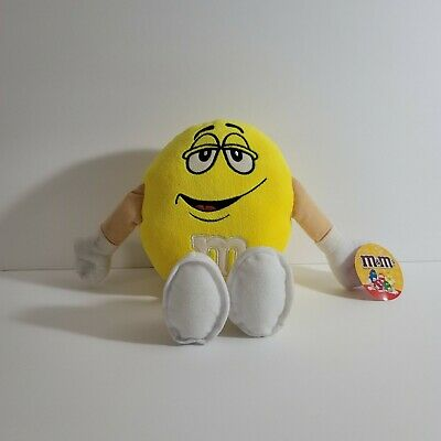 $14.97 • Buy M&M's Yellow Plush Stuffed Toy 12 Inches Tall Toy Factory 2014