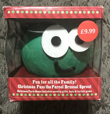 £7.49 • Buy Novelty Family Christmas Game Pass The Parcel Brussel Sprout Party Game 8 Prizes