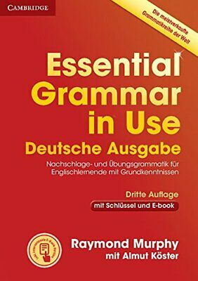 £29.89 • Buy Essential Grammar In Use Book With Answers And Interactive... By Murphy, Raymond