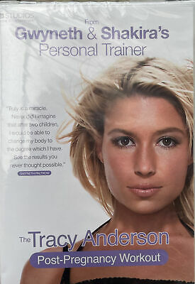 £10.35 • Buy The Tracy Anderson Method - Post-Pregnancy Workout (DVD, 2010)