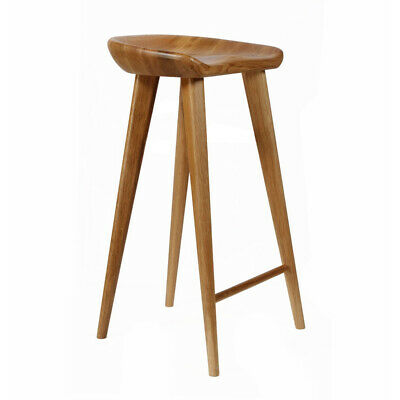 AU1076.31 • Buy New! Carved Wood Barstool -30  Contemporary Bar/counter Tractor Stool-set Of 2 W