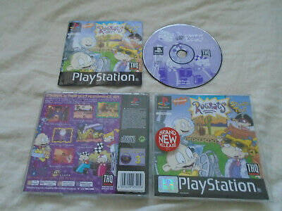 £5.95 • Buy Rugrats Studio Tour PS1 (COMPLETE) Family Sony Playstation Black Label Cartoon