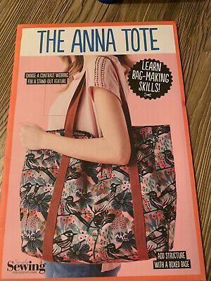 £3.50 • Buy Simply Sewing - THE ANNA TOTE BAG - Sewing Pattern. Oversized Tote. New & Sealed