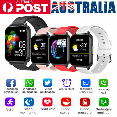 AU31.99 • Buy Smart Watch Band Sport Activity Fitness Tracker For Kids Fit For Android IOS