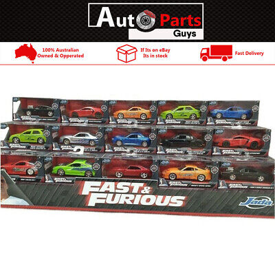 AU19.99 • Buy Fast & Furious Assorted Cars Hollywood Rides 1:32 Jada 10 Cars To Chose From