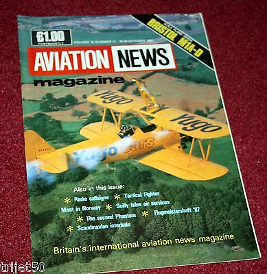 $5.51 • Buy Aviation News Magazine 16.11 Scilly Isles,Bristol M1A,Tactical Fighter Meet