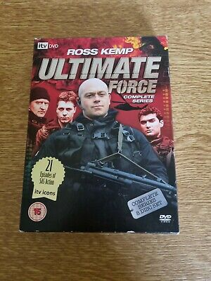 £5.99 • Buy Ultimate Force - Complete Series Ross Kemp DVD, 2008, 8-Disc Set - Free Postage