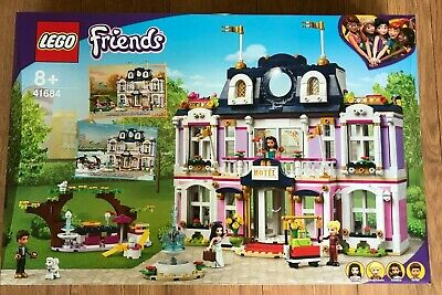 £89.90 • Buy LEGO FRIENDS 41684 Heartlake City Grand Hotel Age 8 + 1308 Pieces ~Brand NEW~