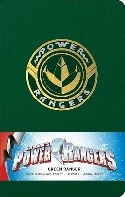 £12.38 • Buy Power Rangers: Green Ranger Hardcover Ruled Journal By Insight Editions New Book