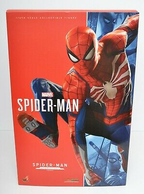 $ CDN623.13 • Buy MARVELS ADVANCED SUIT SPIDER-MAN HOT TOYS 1/6 (12 ) Figure VGM 31 SHIPS FROM USA