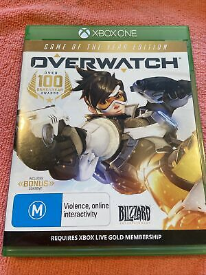 AU25 • Buy Overwatch Game Of The Year Edition XBOX ONE Shooter Free Post Multiplayer