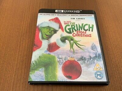 £12 • Buy How The Grinch Stole Christmas   4K Ultra HD Very Good Unsealed