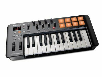 $120.81 • Buy M-Audio Oxygen 25 IV   USB Keyboard And Pad MIDI Controller Featuring Pad/Vel...