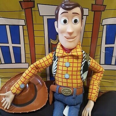 £79.99 • Buy Original Toy Story 1990s Woody Pull String Talking There's A Snake In My Boot