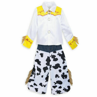 £32.67 • Buy NWT Disney Store 5/6 Jessie Cowgirl Costume Toy Store Girls Dress-up New