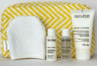 £22.95 • Buy Decleor Aroma Cleanse 3-in-1 Hydra-Radiance Cleansing Mousse 50ml Cleaner Toner