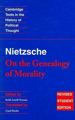 £11.09 • Buy Friedrich Nietzsche : On The Genealogy Of Morality, Paperback By Ansell-Pears...