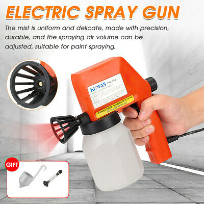 £22.99 • Buy Electric Paint Sprayer Airless Handheld Spray Gun Wall Fence Furniture Painting