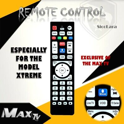 $20 • Buy Remote Control ESPECIALLY FOR MAXTV XTREME PLUS