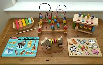 £30 • Buy Wooden Toy Bundle Age 1 / 2 + One / Two Year Old