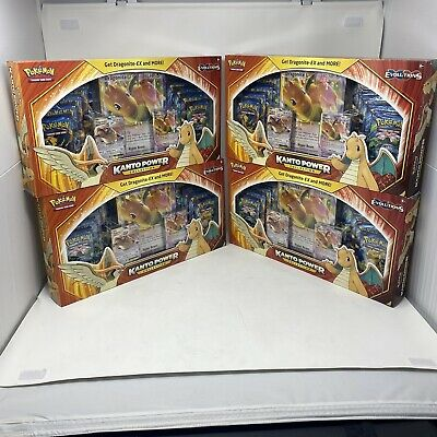 $835.95 • Buy Pokemon Kanto Power Collection Box 4x Lot Dragonite Sealed New In Hand Mewtwo