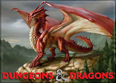 AU31.46 • Buy Dungeons And Dragons Dragon 4th Edition 3.5 X 2.5 Magnet