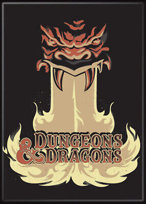 AU31.46 • Buy Dungeons And Dragons Monster Fire Logo 3.5 X 2.5 Magnet
