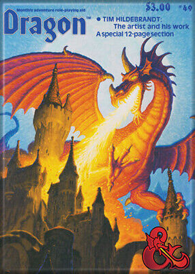AU31.46 • Buy Dungeons And Dragons Dragon Magazine 69 3.5 X 2.5 Magnet