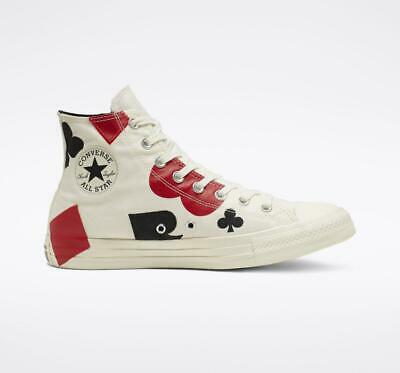 £54.07 • Buy New Converse All Star Chuck Taylor Queen Of Hearts Off White High Top Sneakers