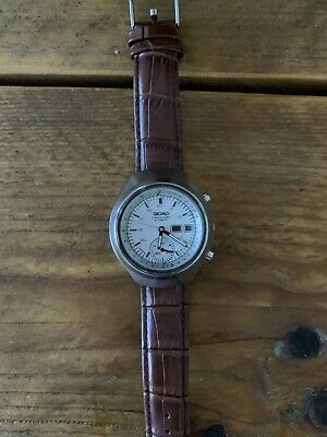 $ CDN560.20 • Buy  Rare Vintage Seiko 6139-7100 Day Date Chronograph Automatic S. Steel Watch
