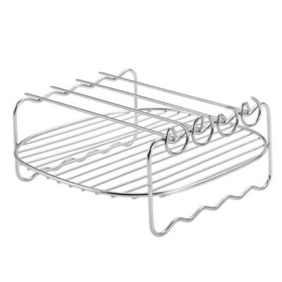 AU17 • Buy Grill+Pins For Philips Air Fryer 8-inch Double-layer Grill Stainless Steel Rack