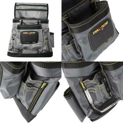 $22.99 • Buy 11 In. 10-Pocket Magnetic Tool Pouch With Belt, Platinum