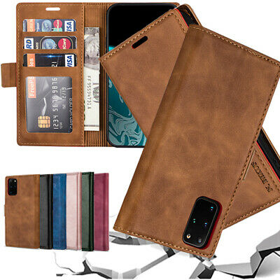 AU14.99 • Buy For Samsung S20 FE Ultra S21 S10 9  Plus Case Leather Wallet Magnetic Flip Cover