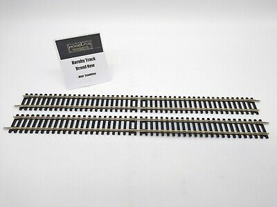 £10.99 • Buy Hornby Track R601 Double Straight (2 Pieces) - New