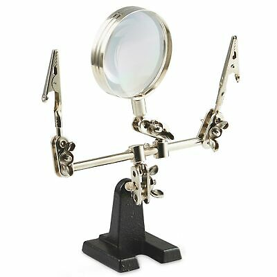 £7.06 • Buy HANDS FREE MAGNIFIER Soldering Jewellery Model Making Painting Magnifying Glass